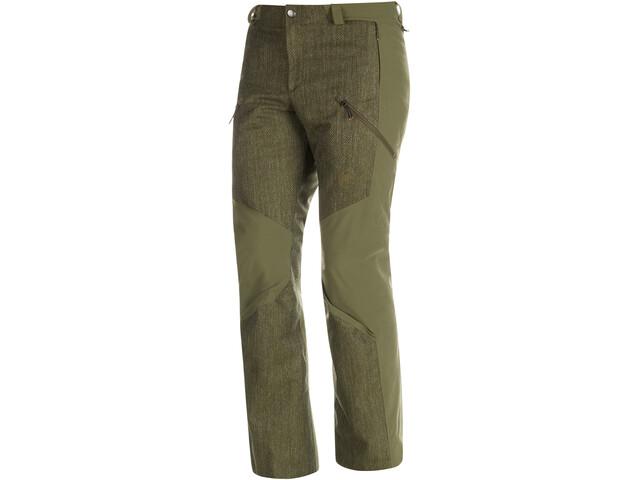 Mammut Cambrena HS Pantaloni termici Uomo, verde oliva